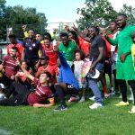 Finalteilnehmer beim 9. Interkulturellen Fußballturnier