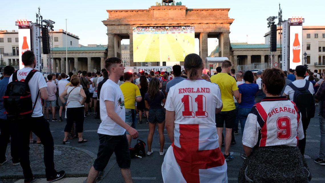 England siegt auch auf der Fanmeile-Football´s coming home?