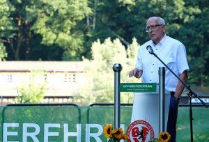 Klaus Böger bei BFV-Meisterehrung