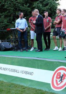 U19 Hertha BSC bei BFV-Meisterehrung