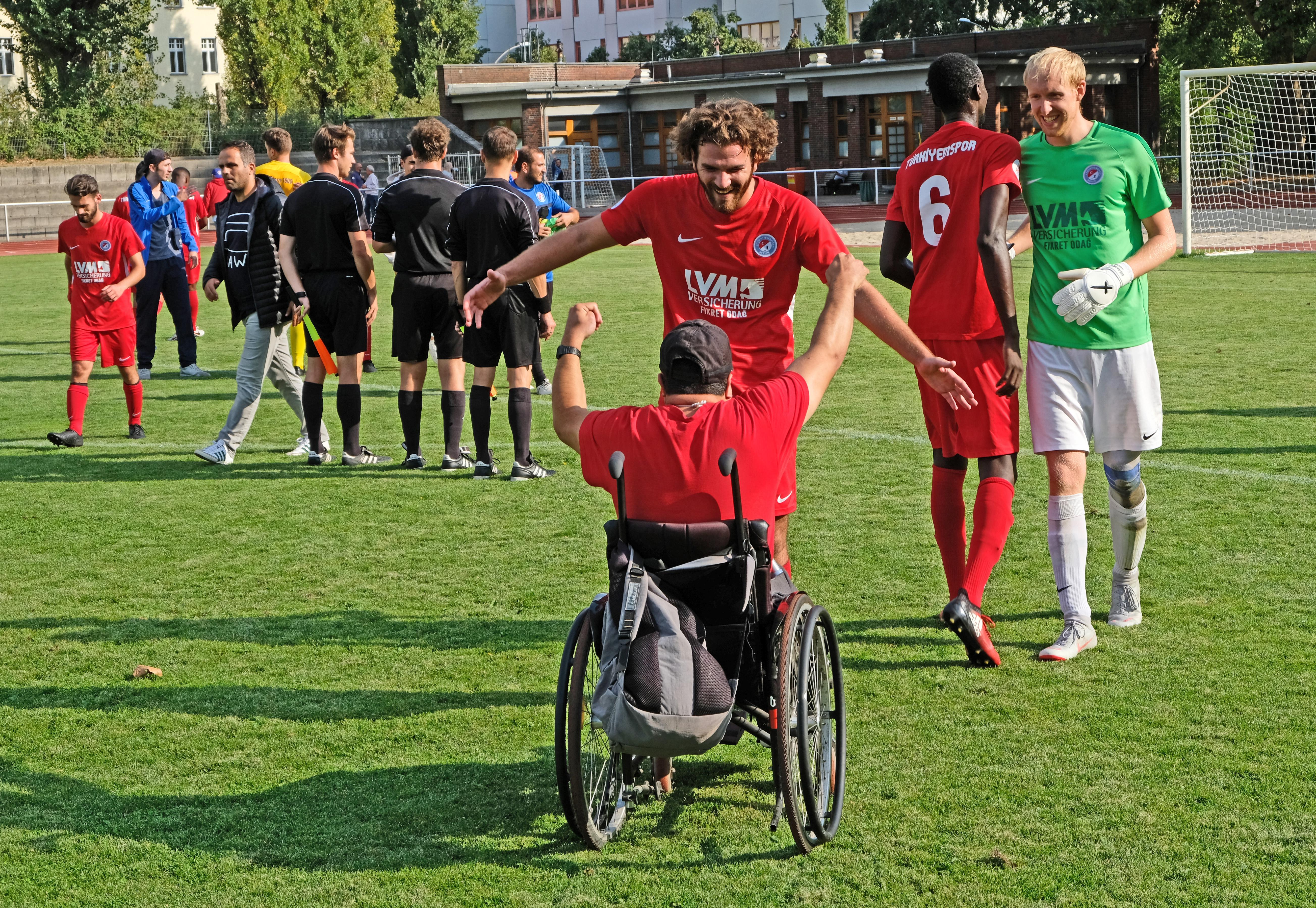Berlin-Liga Aufsteiger Türkiyemspor mit 1:0-Sieg gegen Stern 1900