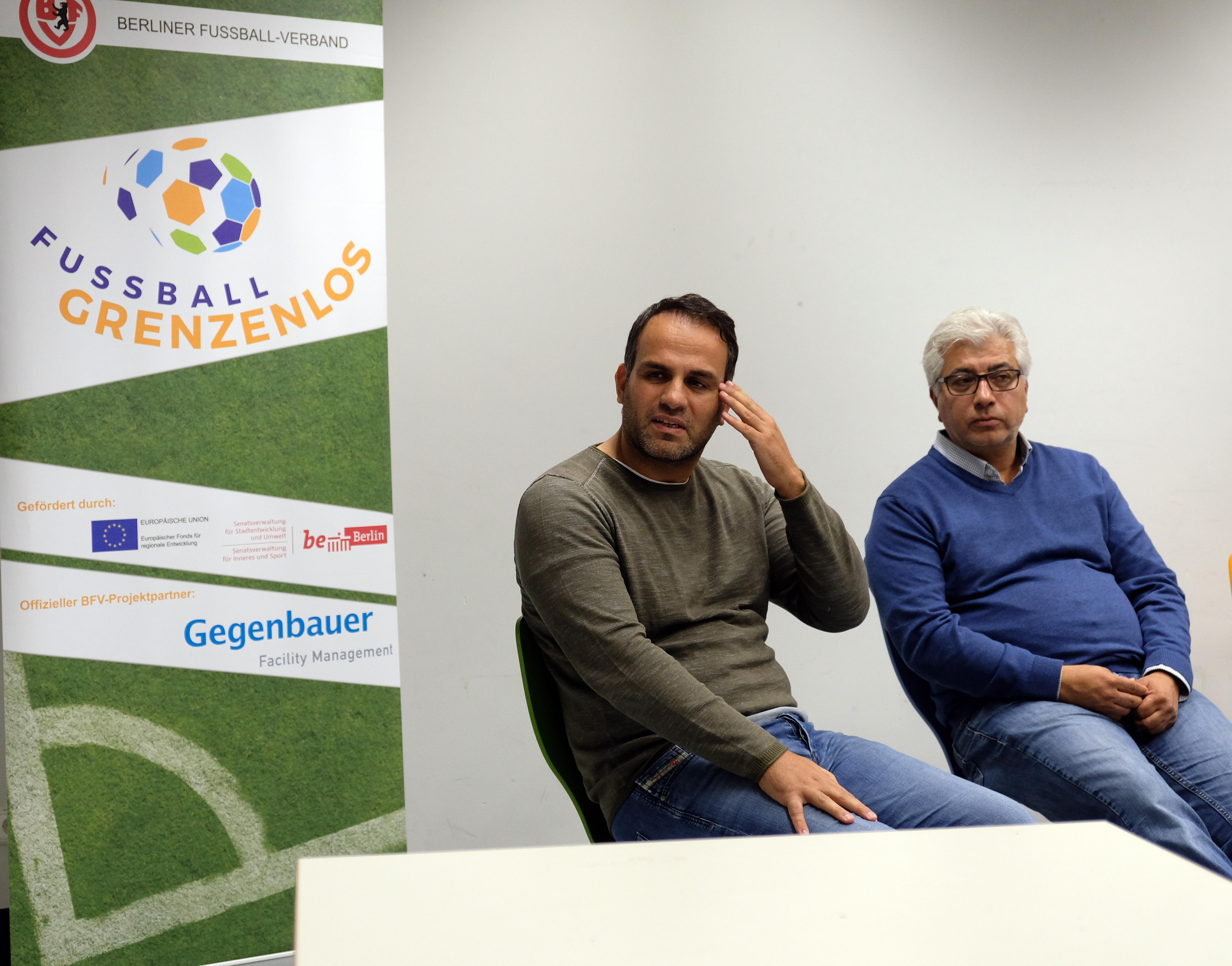Ecevit Özman und Mehmet Matur