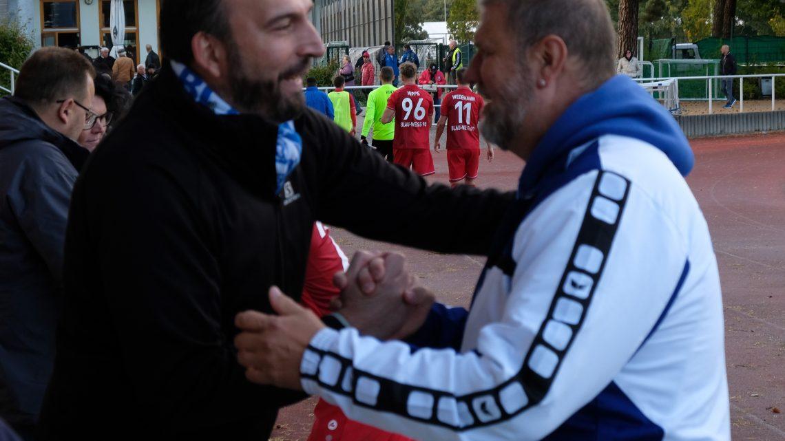 Blau-Weiss 90 kommt in der Oberliga an
