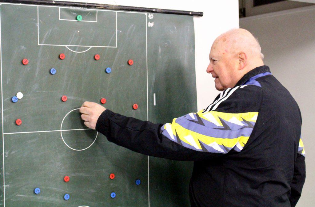 Heinz Boock, ein Taktikfachmann