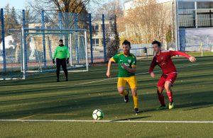 Zweikämpfe auf Augenhöhe in der 3. Runde des AOK-Landespokals