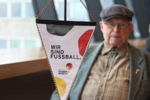 Heinz Boock im November 2015 im Fußballmuseum